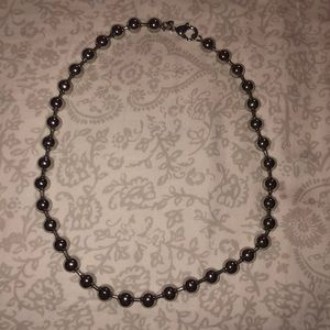 Jewelry - Stainless steel beaded necklace